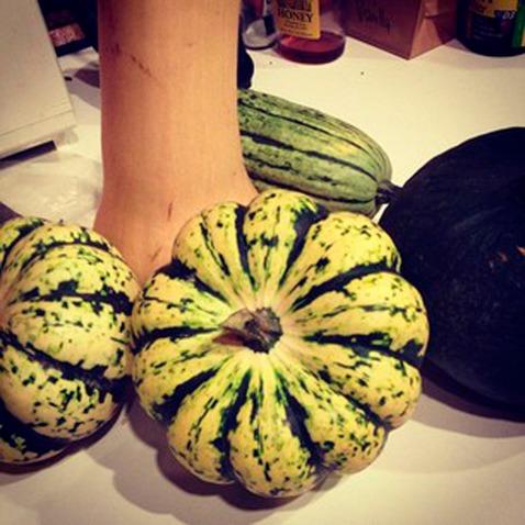 Buttercup, butternut, carnival and delicata squash